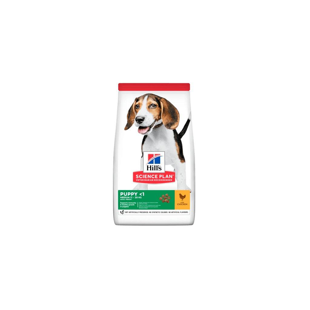 sp canine science plan puppy healthy development medium chicken dry