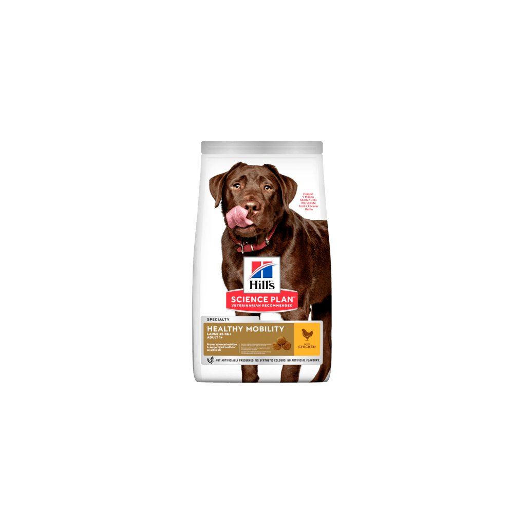 sp canine science plan adult healthy mobility large with chicken dry