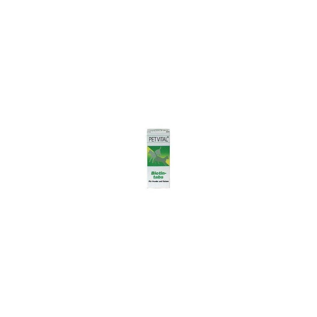 CANINA Petvital Biotin-tabs 100g (cca 50tbl.)