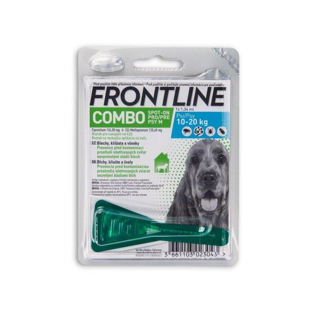 frontline combo dog m