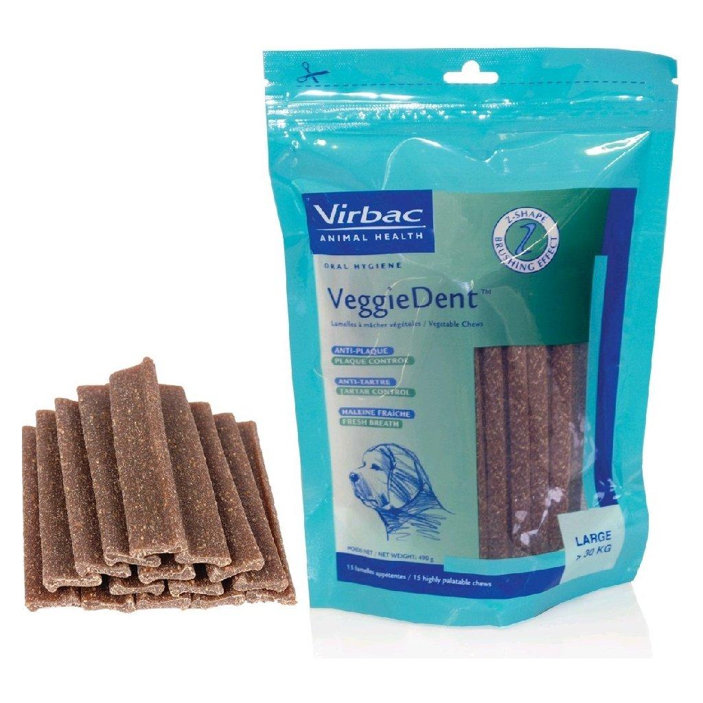 VIRBAC C.E.T. Chews L - enzymatické žvýkací plátky - pes nad 30 kg