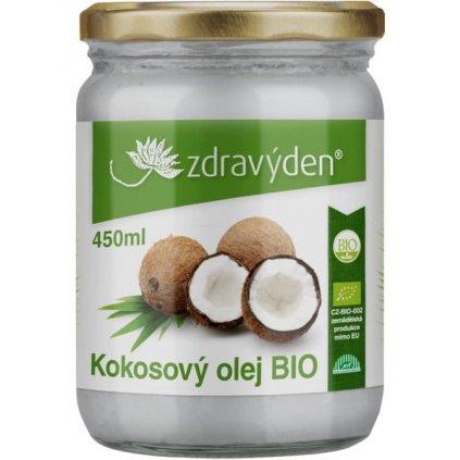 Zdravý den Kokosový olej BIO (Obsah 950ml)