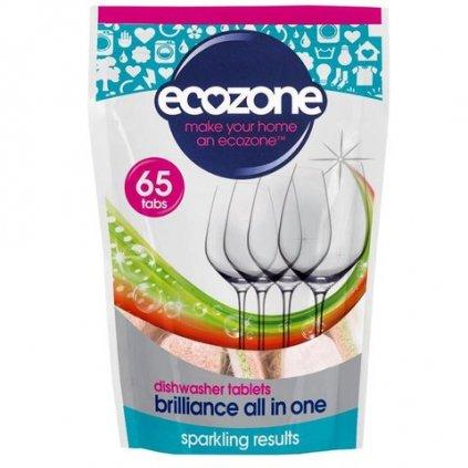 ecozone tablety do mycky brilliance 65 ks