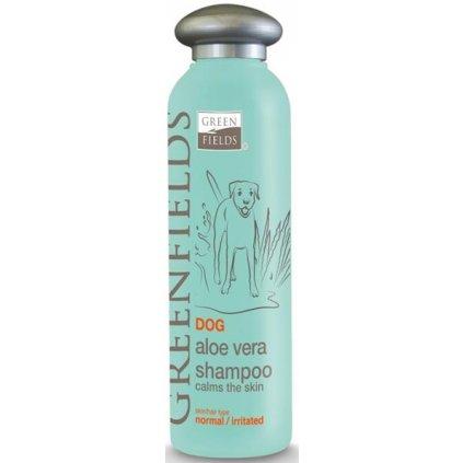 GREENFIELDS šampon Aloa Vera pes 250ml