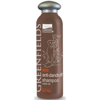 GREENFIELDS šampon březový proti lupům 250ml