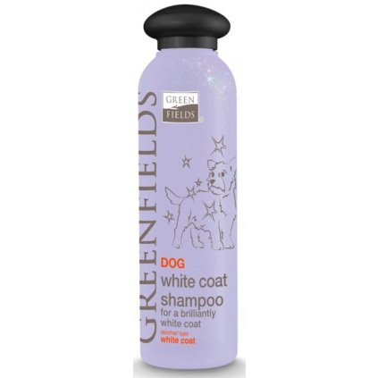 GREENFIELDS šampon white coat 250ml
