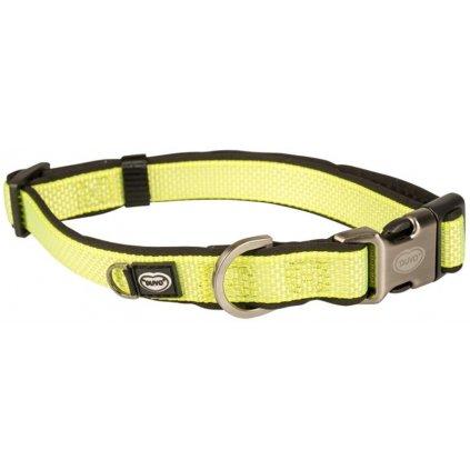 Obojek nylon North žlutá 1,5x30-45cm Duvo+