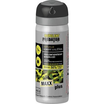 Predator MaxX Deet50% 55ml
