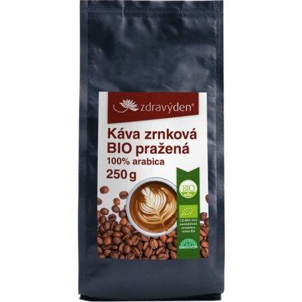 kava zrnkova bio prazena 250gg