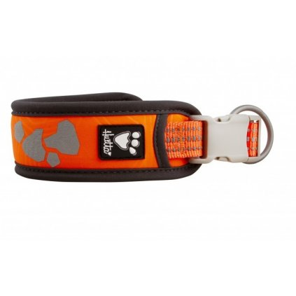 hurtta weekend warrior collar neon orange