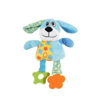 ZOLUX Dog Color plyš modrá 22cm
