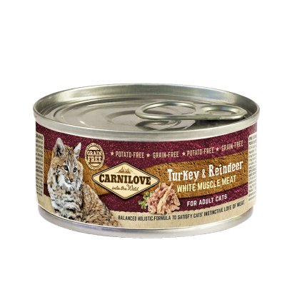 carnilove cat turkey 100