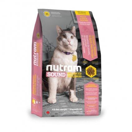 NUTRAM Sound Adult/Senior Cat 1,8 kg