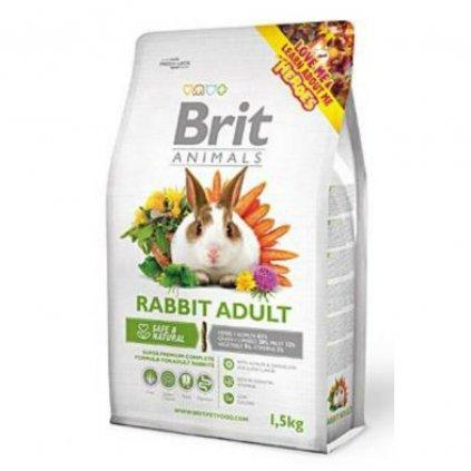 brit animals rabbit adult complete 1 5