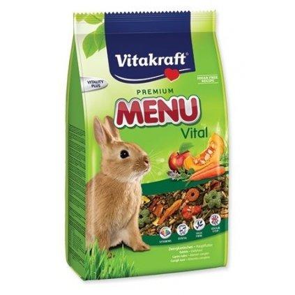 vitakraft rodent rabbit krm menu vital 3kg