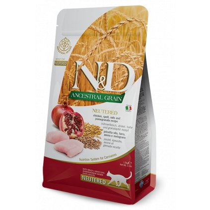 1nd ancestral neutered chicken spelt pomegranate
