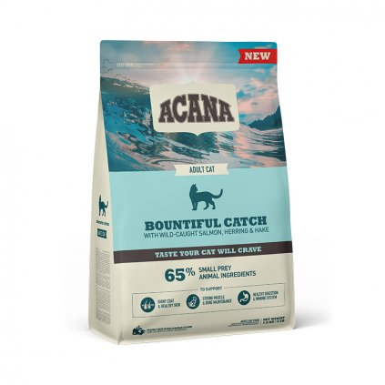 NS ACANA Cat Bountiful Catch Front Right 1.8kg