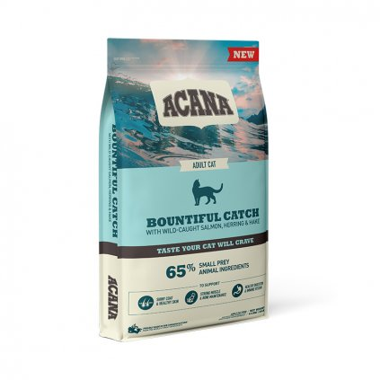 NS ACANA Cat Bounfiful Catch Front Right 4.5kg