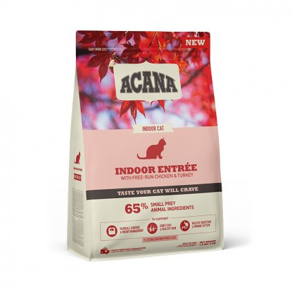 NS ACANA Cat Indoor Entree Front Right 1.8kg