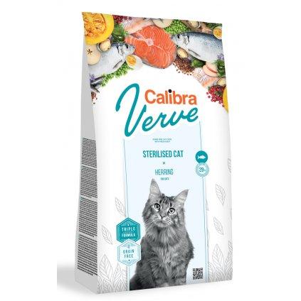 calibra verve cat sterilised herring