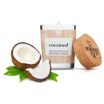 Masážní svíčka MAGNETIFICO Enjoy it! Coconut 9