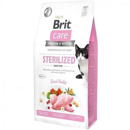 brit cat sterilised sensitive