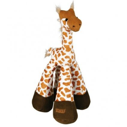 Plyšová žirafa malá se zvukem 33cm