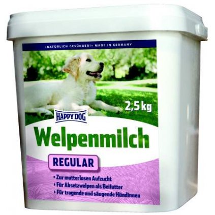 HAPPY DOG Welpenmilch Regular sušené mléko 2,5 kg