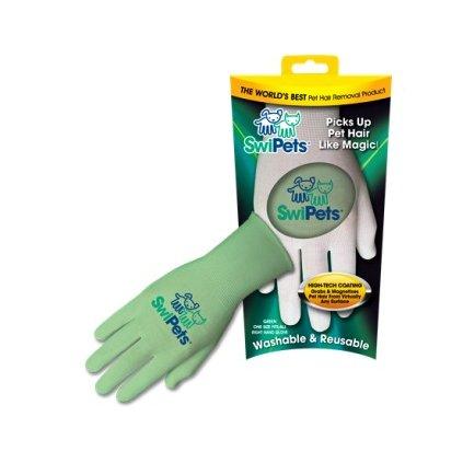 Elektrostatická rukavice SwiPets zelená 1ks