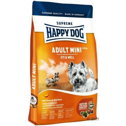 HAPPY DOG Supreme Fit & Well Adult Mini 4 kg