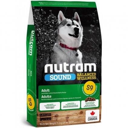 nutram sound adult dog lamb pro dospeleho psa z jehneciho masa