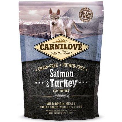 Carnilove Dog Salmon & Turkey for Puppies 1,5 kg