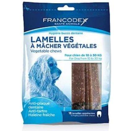 FRANCODEX Weggy enzymatické žvýkací plátky M 350g