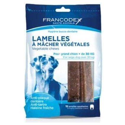 FRANCODEX Weggy enzymatické žvýkací plátky L 490g