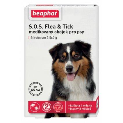 antiparazitni obojek pro psy beaphar sos 65cm 1