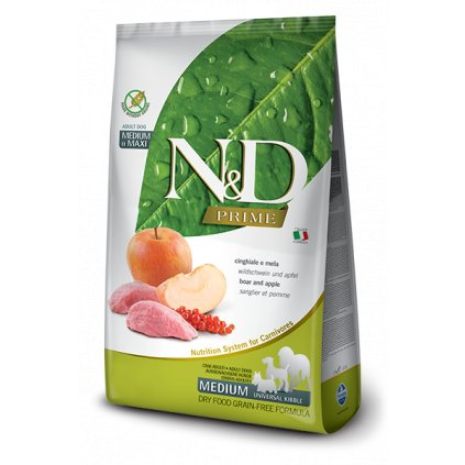 nd prime adult medium maxi wild boar apple