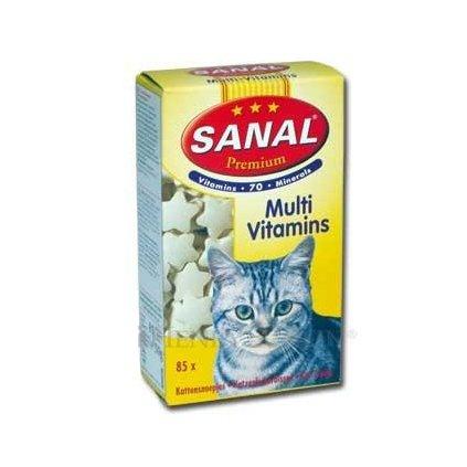 SANAL Premium CAT 85 multivitamíny 85tbl