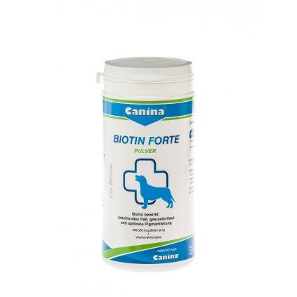 CANINA Biotin forte plv. 200g