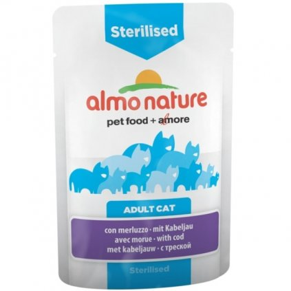 almo nature sterilised 70
