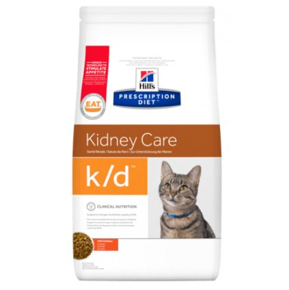 pd feline prescription diet kd with chicken dry
