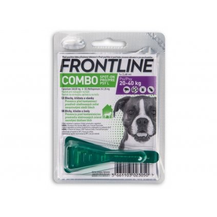 frontline combo dog l