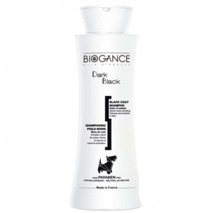 BIOGANCE šampon Dark black -pro černou/tmavou srst 250 ml