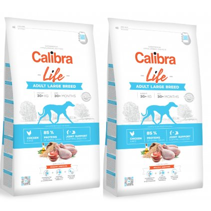 calibra dog life adult large chicken