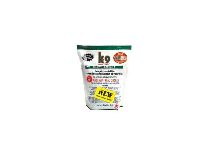 K-9 Selection Growth Formula Small Breed 3 kg