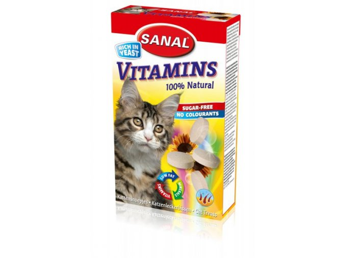 SANAL Vitamins kalcium s vitamíny 100tbl