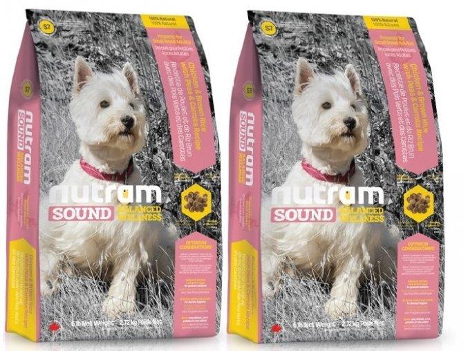 nutram sound adult dog small breed pro dospele psy malych plemen