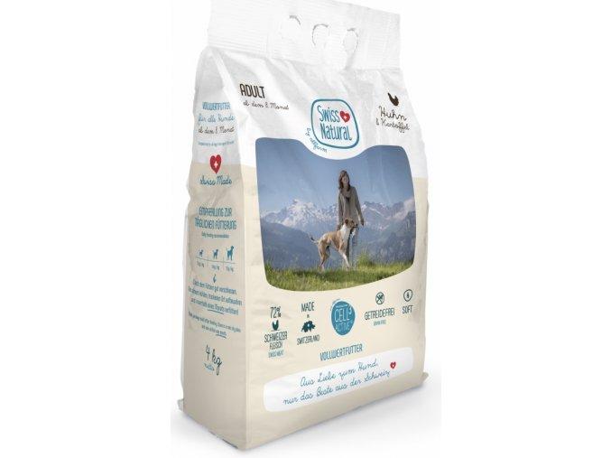 SWISS Natural Dog Adult Chicken 4 kg