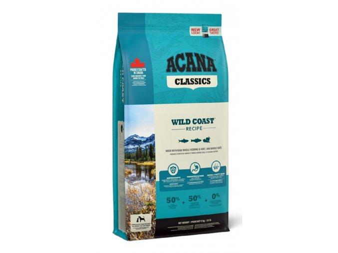 ACANA Dog Wild Coast 17 kg  + originální klíčenka ACANA !