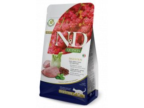 ND Quinoa feline 1,5kg Adult DIGESTION LAMB