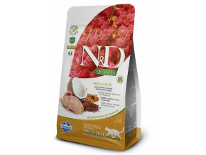 ND Quinoa feline 1,5kg Adult SKIN&COAT QUAIL